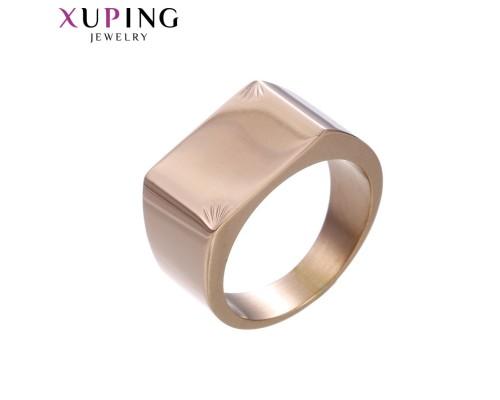 Печатка Xuping розовая позолота ST 10000361