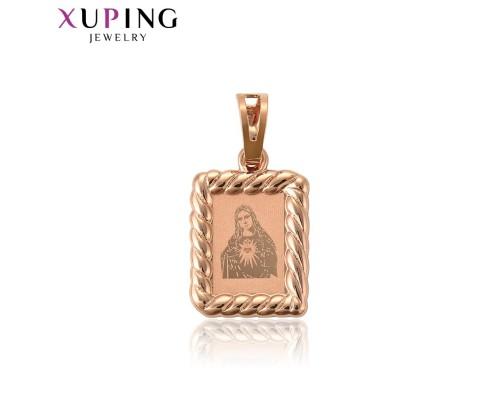 Ладанка Xuping розовая позолота 10001021