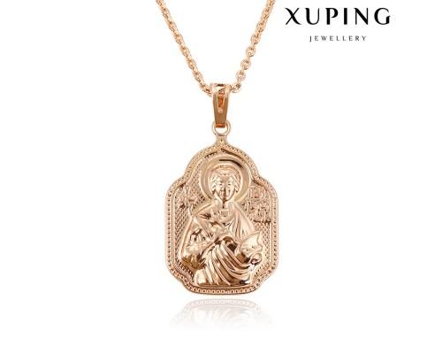 Ладанка Xuping розовая позолота 10004603