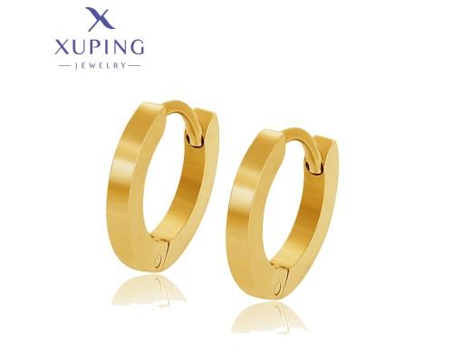 Серьги Xuping позолота 24К ST 10004907