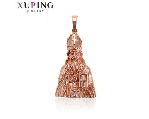 Ладанка Xuping розовая позолота 10006547