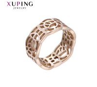 Кольцо Xuping розовая позолота 10006764
