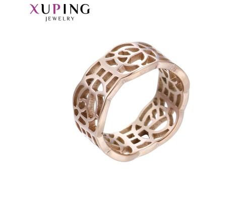 Кольцо Xuping розовая позолота ST 10006764