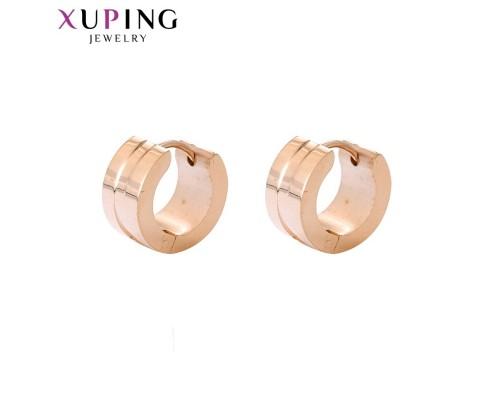 Серьги Xuping розовая позолота ST 10007576
