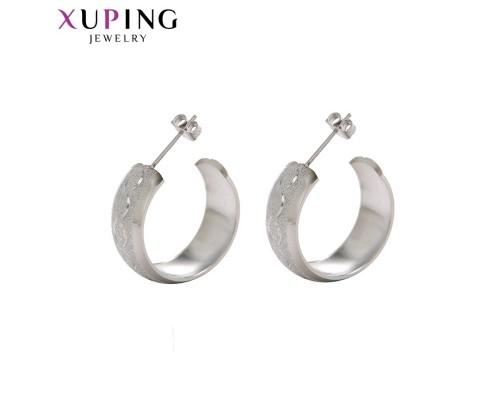 Серьги Xuping родиум 10008673