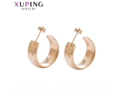 Серьги Xuping розовая позолота ST 10008961