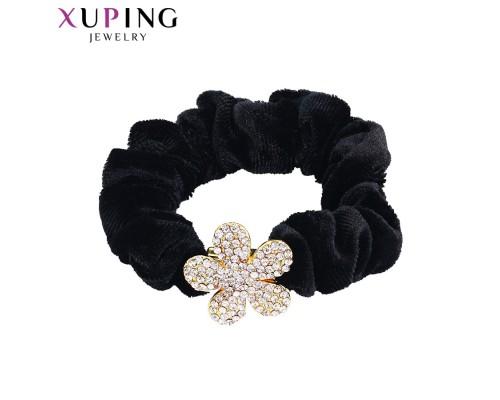 Резинка Xuping с белыми фианитами позолота 24К 1860000