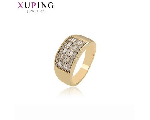 Печатка Xuping с белыми фианитами позолота 14К 2067000