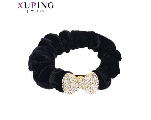 Резинка Xuping с белыми фианитами позолота 24К 2994000