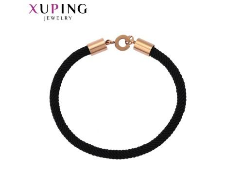 Стильный браслет, розовая позолота (5672000)