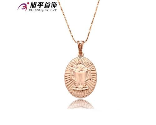 Ладанка Xuping розовая позолота 6110000
