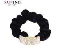 Резинка Xuping с белыми фианитами позолота 24К 6330000