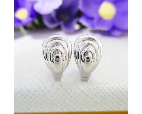 Серьги Xuping родиум 7007000