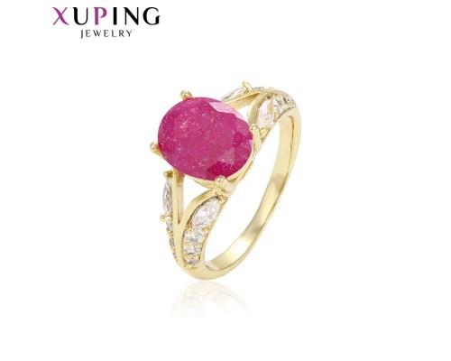 Замечательное кольцо с фианитами, позолота 14К (2955000)
