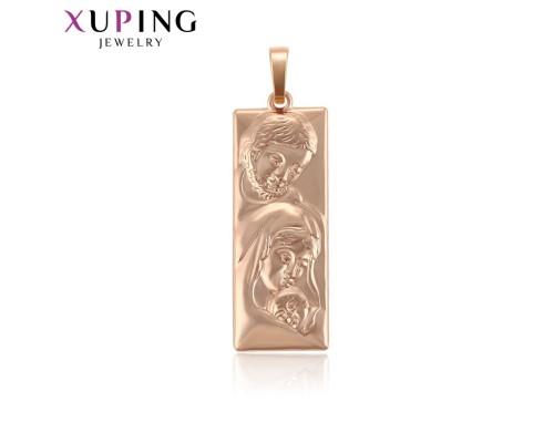 Ладанка Xuping розовая позолота 7464000
