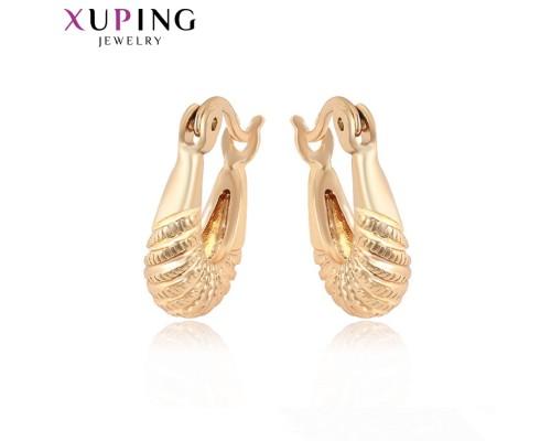 Серьги Xuping позолота 18К 8334000