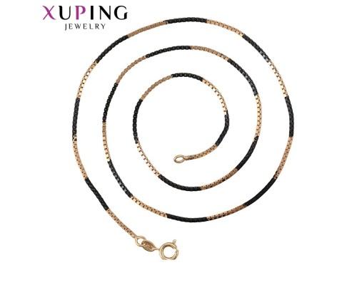 Цепочка Xuping родиум и позолота 8382000