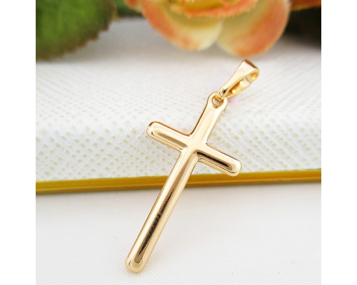 Крестик Xuping позолота 18К 8525000