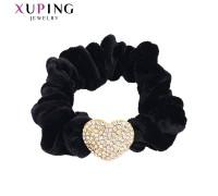Резинка Xuping с белыми фианитами позолота 24К 8645000