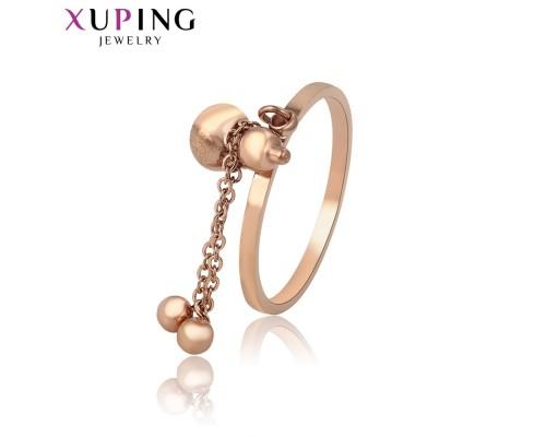 Интересное кольцо, розовая позолота (9266000)